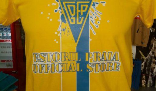 T-shirt Estoril Praia Official Store (várias cores) – 13€