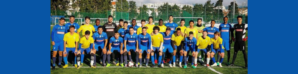Formação Canarinha com 150 presenças no Futebol Profissional